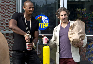 Mehcad Brooks and Michael Imperioli | Photo Credits: Wilford Harewood/USA Network
