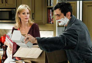 "Julie Bowen and Ty Burrell | Photo Credits: Peter ""Hopper"" Stone/ABC"