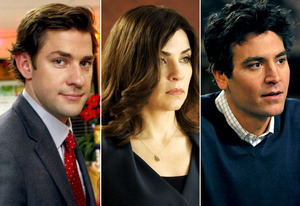 John Krasinski, Julianna Margulies, Josh Radnor | Photo Credits: Chris Haston/NBC; Jeffrey Neira/CBS; Eric McCandless/FOX
