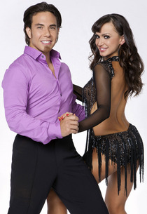 Apolo Anton Ohno and Karina Smirnoff | Photo Credits: Craig Sjodin/ABC