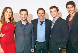 Sophia Bush, David Krumholtz, Will Keck, Michael Urie, Brandon Routh | Photo Credits: Lisa Rose for TV Guide