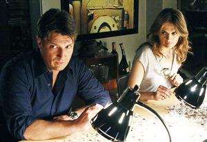 Nathan Fillion and Stana Katic   Photo Credits: Vivian Zink/ABC