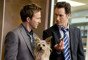 Breckin Meyer and Mark Paul Gosselaar | Photo Credits: TNT