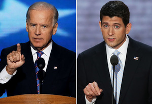 Joe Biden, Paul Ryan | Photo Credits: Alex Wong/Getty Images, Mark Wilson/Getty Images