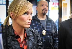Kelli Giddish, Ice-T | Photo Credits: Michael Parmelee/NBC