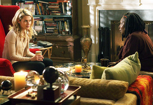 Rachael Taylor and Whoopi Goldberg | Photo Credits: Eric Liebowitz/ABC