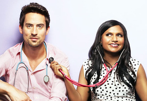 Ed Weeks and Mindy Kaling | Photo Credits: Autumn De Wilde/FOX