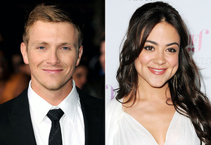 Charlie Bewley, Camille Guaty   Photo Credits: Steve Granitz/WireImage, Alberto E. Rodriguez/Getty Images