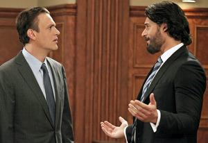 Jason Segel and Joe Manganiello   Photo Credits: Richard Cartwright/CBS