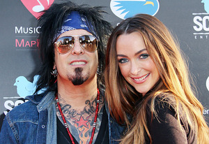 Nikki Sixx and Courtney Bingham | Photo Credits: Paul Archuleta/FilmMagic