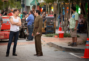 Behind the Scenes: The Vampire Diaries WWII Flashback | Photo Credits: Bob Mahoney/The CW