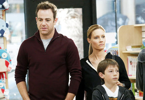 Paul Adelstein, Kadee Strickland and Griffin Gluck | Photo Credits: Vivian Zink/ABC