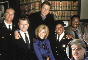 Night Court; Reinhold Weege (inset)   Photo Credits: Kobal Collection; E!