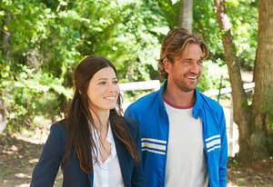 Jessica Biel and Gerard Butler | Photo Credits: FilmDistrict