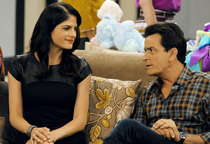 Selma Blair, Charlie Sheen | Photo Credits: Prashant Gupta/FX Network