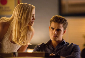 Claire Holt, Paul Wesley | Photo Credits: Bob Mahoney/The CW