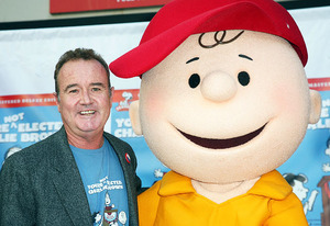 Peter Robbins and Charlie Brown | Photo Credits: Valerie Macon/Getty Images