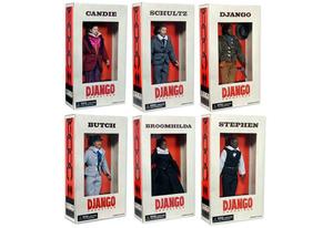 Django Unchained Dolls | Photo Credits: NECA
