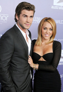 Liam Hemsworth and Miley Cyrus | Photo Credits: Gregg DeGuire/WireImage.com