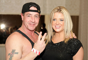 Michael Lohan and Kate Major | Photo Credits: Bill McCay/WireImage