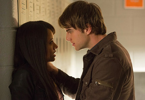 Kat Graham and Nathaniel Buzolic | Photo Credits: Bob Mahoney/The CW