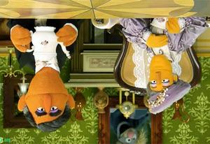 Upside Downton Abbey | Photo Credits: SesameStreet.org
