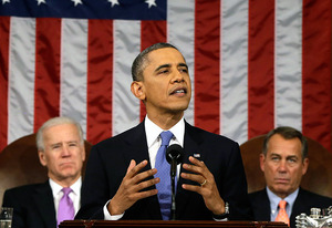 Joe Biden, Barack Obama, John Boehner | Photo Credits: Pool/Getty Images