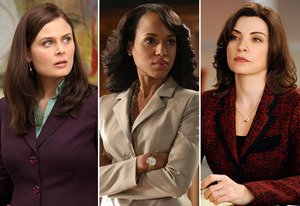 Emily Deschanel, Kerry Washington, Juliana Margulies | Photo Credits: Fox; Danny Feld/ABC; Jeffrey Neira/CBS
