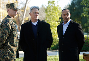 Mark Harmon, Rocky Carroll | Photo Credits: Cliff Lipson/CBS