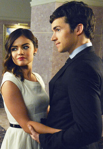 Lucy Hale and Ian Harding | Photo Credits: Eric McCandless/ABC Family