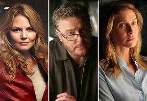 Jennifer Morrison, William Petersen, Elizabeth Mitchell | Photo Credits: ABC, Robert Voets/CBS; Brownie Harris/NBC