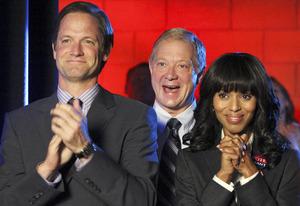 Matt Letscher, Jeff Perry, Kerry Washington | Photo Credits: Carol Kaelson/ABC/Getty Images