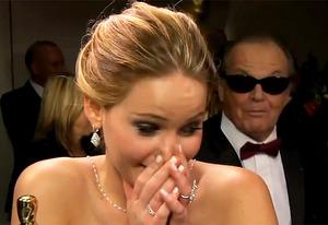 Jennifer Lawrence, Jack Nicholson | Photo Credits: ABC