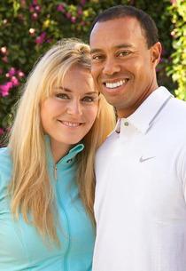 Lindsey Vonn, Tiger Woods | Photo Credits: Tiger Woods/Lindsey Vonn