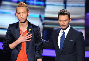 Devin Velez, Ryan Seacrest | Photo Credits: Michael Becker / FOX