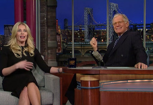 Chelsea Handler, David Letterman | Photo Credits: CBS