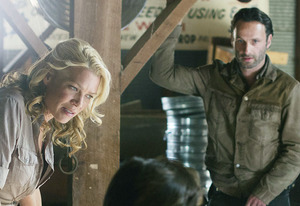 Laurie Holden and Andrew Lincoln | Photo Credits: Gene Page/AMC