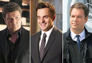 Nathan Fillion, Jake Johnson, Michael Weatherly | Photo Credits: Richard Cartwright/ABC; Adam Taylor/FOX; Sonja Flemming/CBS
