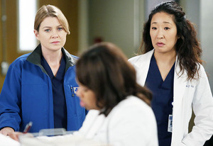 Ellen Pompeo, Chandra Wilson and Sandra Oh | Photo Credits: Kelsey McNeal/ABC