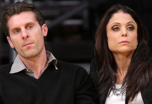 Jason Hoppy, Bethenny Frankel | Photo Credits: Noel Vasquez/Getty Images.