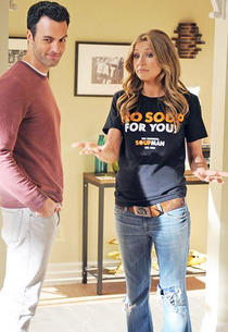 Reid Scott, Sarah Chalke | Photo Credits: Richard Foreman/ABC.