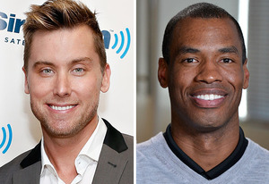 Lance Bass, Jason Collins | Photo Credits: Cindy Ord/Getty Images; Eric McCandless/ABC via Getty Images.