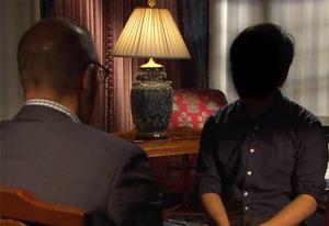 "Matt Lauer and Boston carjack victim ""Danny"" | Photo Credits: NBC."