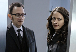 Michael Emerson, Amy Acker | Photo Credits: Giovanni Rufino/CBS