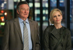 Robin Williams, Sarah Michelle Gellar | Photo Credits: Richard Cartwright/CBS