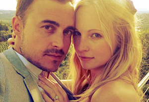 Joe King and Candice Accola | Photo Credits: Candice Accola/Instagram