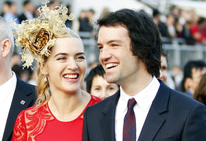 Kate Winslet and Ned Rocknroll | Photo Credits: Tyrone Siu/Reuters/Landov