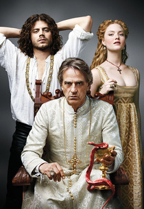 Francois Arnaud, Jeremy Irons and Holliday Grainger   Photo Credits: Showtime