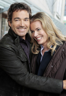 Jon Tenney and Rebecca Romijn | Photo Credits: TNT