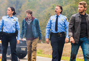 Natalie Martinez, Colin Ford, Jeff Fahey, Mike Vogel | Photo Credits: Michael Tackett/CBS